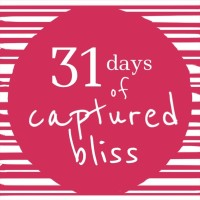 31 Days of Captured Bliss