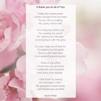 Thank you poem